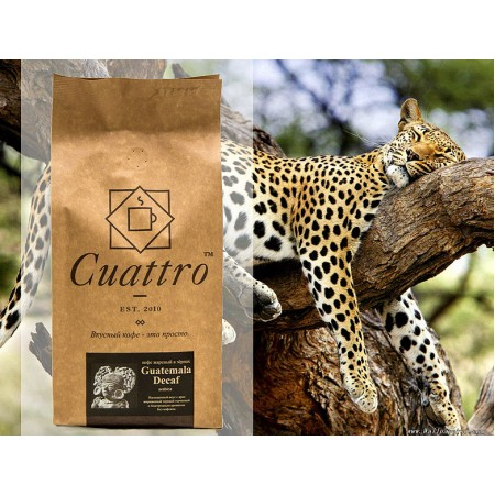 Кофе CUATTRO Guatemala Decaf (Гватемала Декаф)