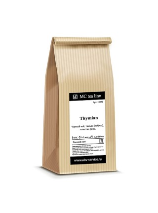 Чай черный Thymian 100 г
