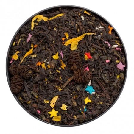 Купаж чёрного и зеленого чая Карнавал 100 г