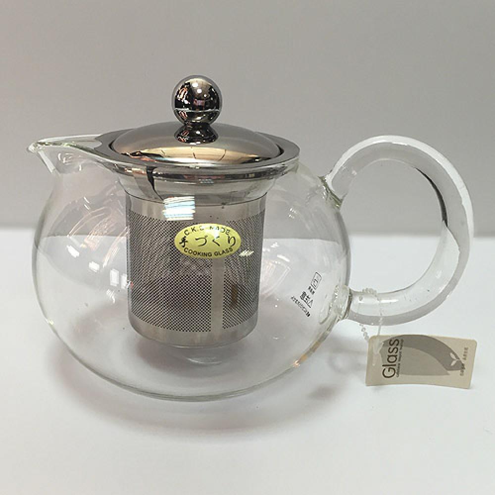 Заварочный стеклянный чайник CK-20MB (800мл)