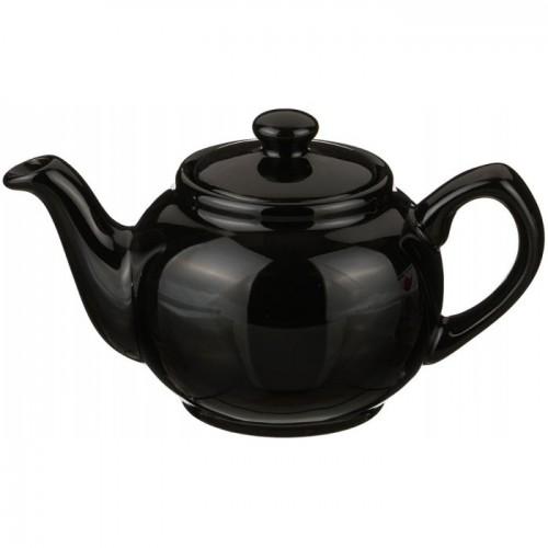 Чайник заварочный, чёрный (400 мл)