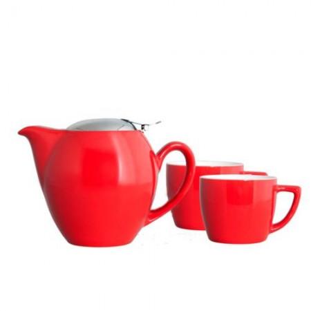 """Чайный набор """"Киото"""", цвет красный"""