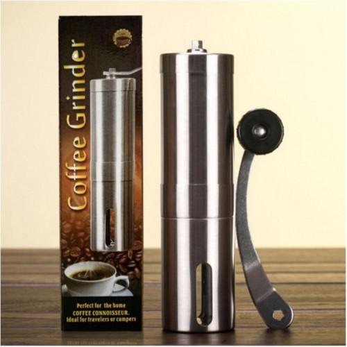 Кофемолка ручная GrindBox с корпусом из нержавеющей стали