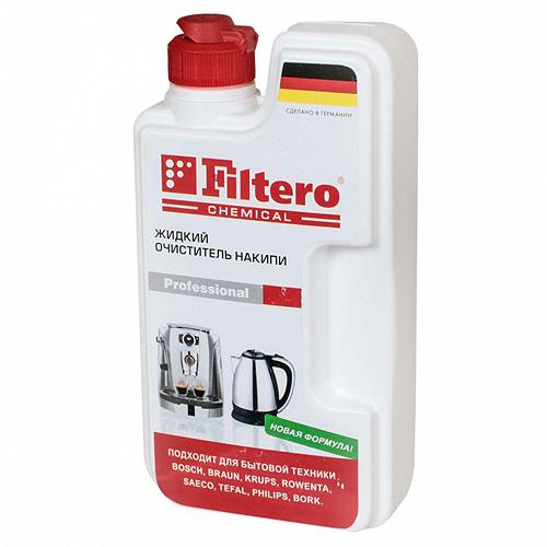 Жидкий очиститель накипи Filtero, 250 мл