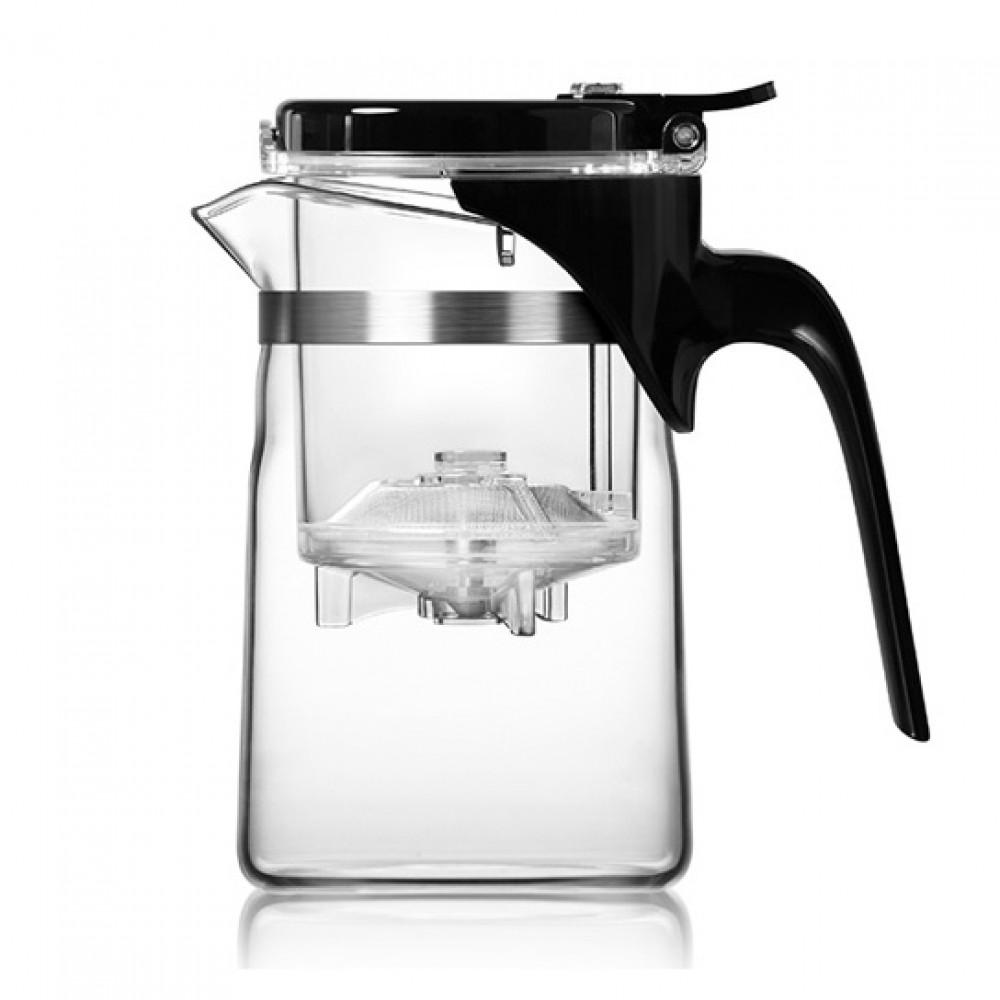 Чайник заварочный с кнопкой Гунфу 500 мл Артикул: SamaDoyo SAG-08