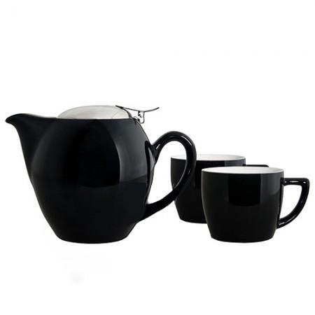 """Чайный набор """"Киото"""", цвет черный"""