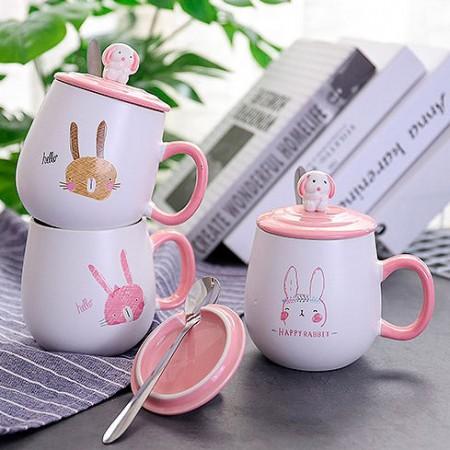 """Кружка """"Happy rabbit"""" (400 мл)"""