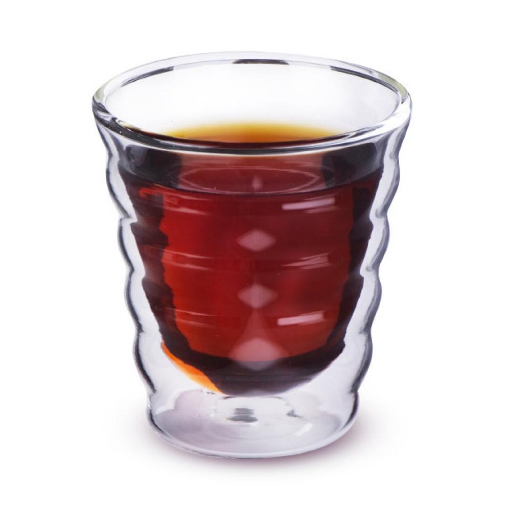 """Необжигающая чашка """"Тама"""" из жаропрочного стекла (180 мл)"""