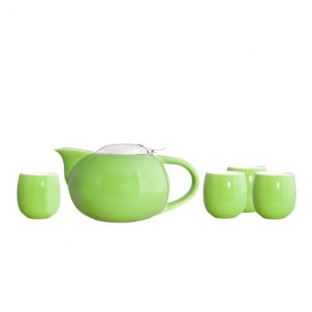 """Чайный набор """"Сакура"""", цвет зеленый"""