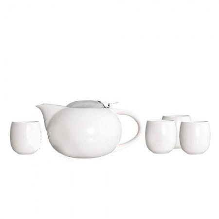 "Чайный набор ""Сакура"", цвет белый"