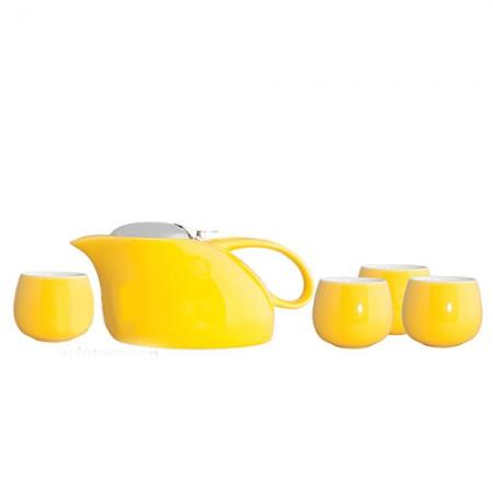 "Чайный набор ""Саюри"", цвет желтый"