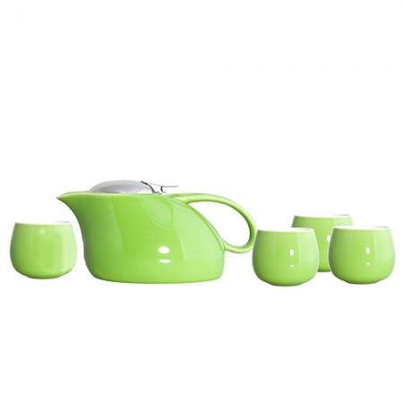 """Чайный набор """"Саюри"""", цвет зеленый"""