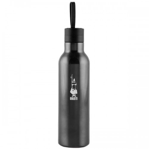 Термобутылка Bialetti 0.75 л темно-серая