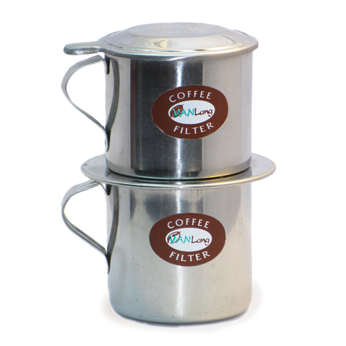 """Пресс-фильтр № 10 для приготовления молотого кофе """"по-вьетнамски"""" с чашкой, объем - 460 мл"""