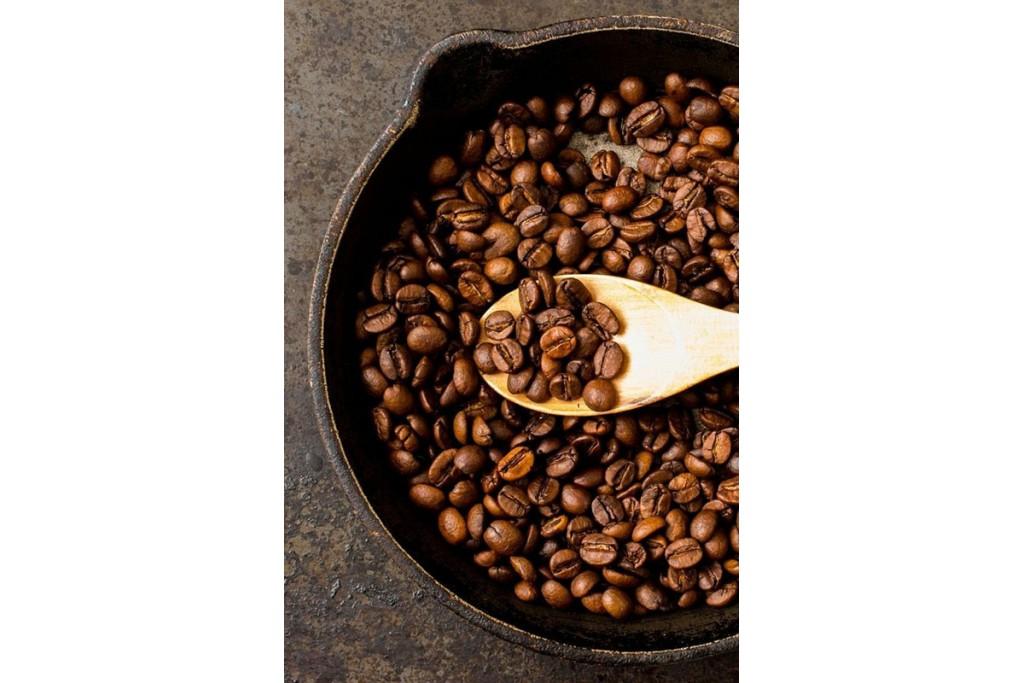 Как обжарить кофейные зерна дома