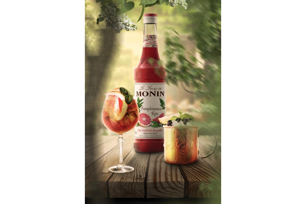 MONIN - ведущая марка сиропов премиального класса.