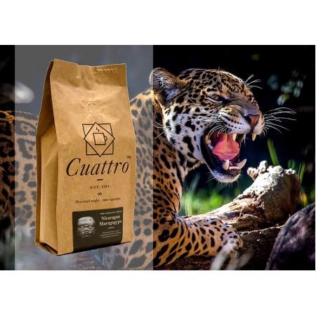 Кофе CUATTRO Nicaragua Marogogype (Никарагуа Марогоджип)