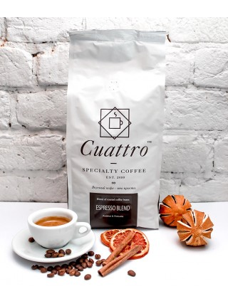 Кофе в зернах CUATTRO Espresso Blend