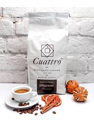 Кофе CUATTRO Espresso Blend