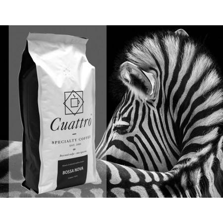 Кофе в зернах CUATTRO Bossa Nova