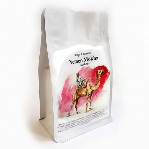 Кофе в зернах CUATTRO Yemen Mokha (Йемен)