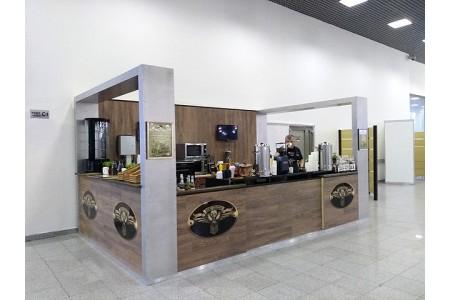 Кофе-станция CUATTRO в «Крокус Экспо»!