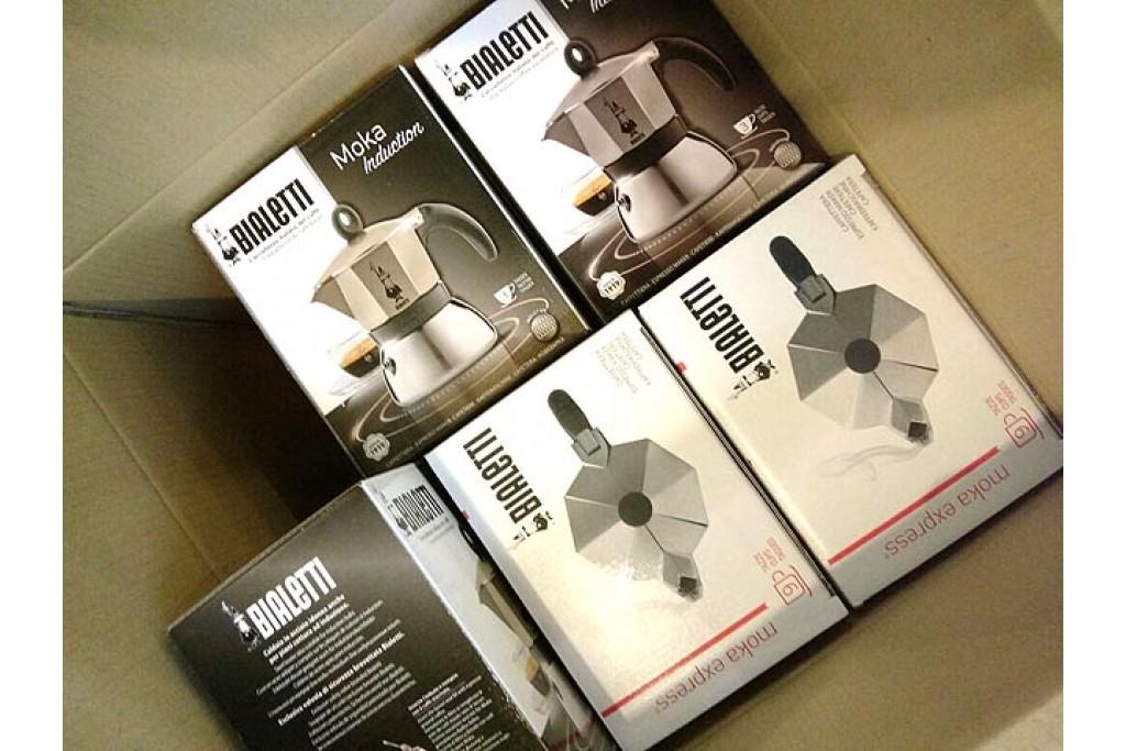 Большое поступление гейзерных кофеварок Bialetti