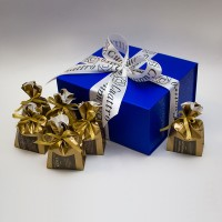 Подарочный набор «12 месяцев» кофейный