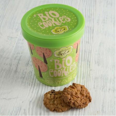 Стаканчик SOFI с органическими овсяными печеньками, 115 г