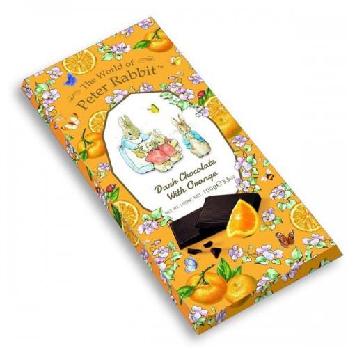 Темный шоколад с апельсином The World of Peter Rabbit - Bar Dark Orange Bunny 100 г