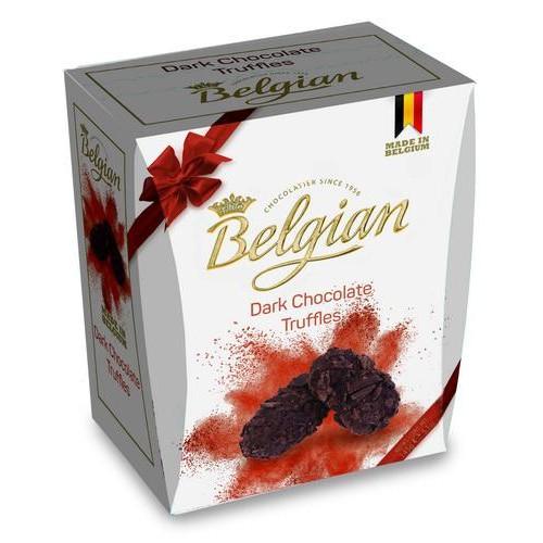 Шоколад The Belgian Трюфели из темного шоколада в хлопьях, 145 г