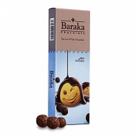 Бисквитные шарики Baraka в молочном шоколаде 100 гр.