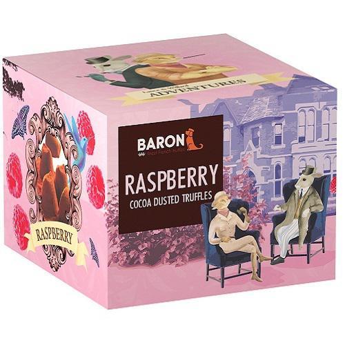 """Французские трюфели """"BARON"""" со вкусом малины 100 гр."""