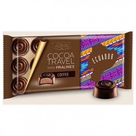 Набор конфет из тёмного шоколада с кофейной начинкой Baron, 100 г