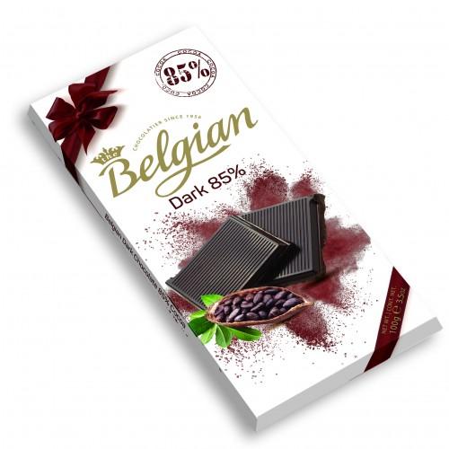 Шоколад The Belgian Dark горький (какао 85%) 100г