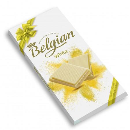 Шоколад The Belgian белый (White Chocolate) 100 г
