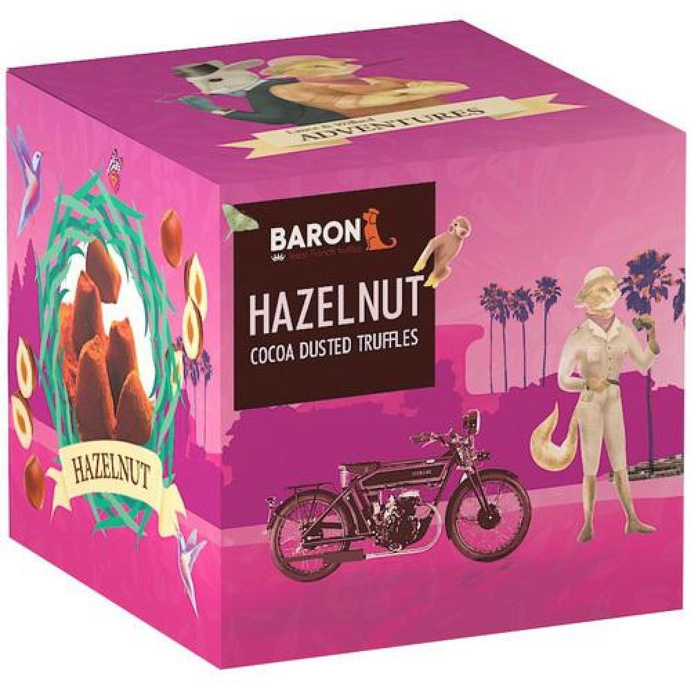 """Шоколад Mathez, """"Baron"""" французские трюфели с дробленым фундуком 150 гр."""