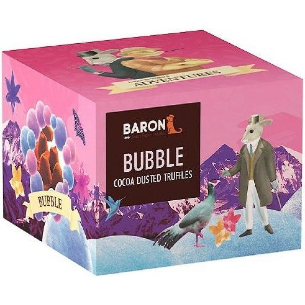 """Шоколад Mathez, """"Baron"""" французские трюфели с кристаллами карамели 150 гр."""