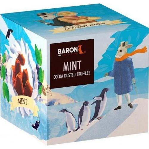 """Шоколад Mathez, """"Baron"""" французские трюфели с кристаллами мяты 150 гр."""