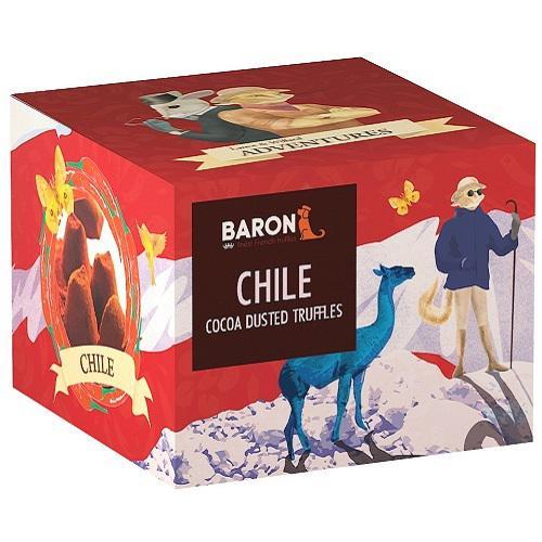 """Шоколад Mathez, """"Baron"""" французские трюфели со вкусом чили 100 гр."""