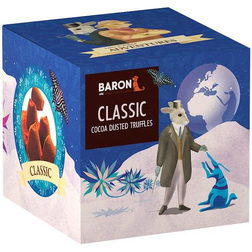 "Шоколад Mathez, ""Baron"" French Truffles Nature / Матез, ""Барон"" Французские трюфели классические 150 гр."