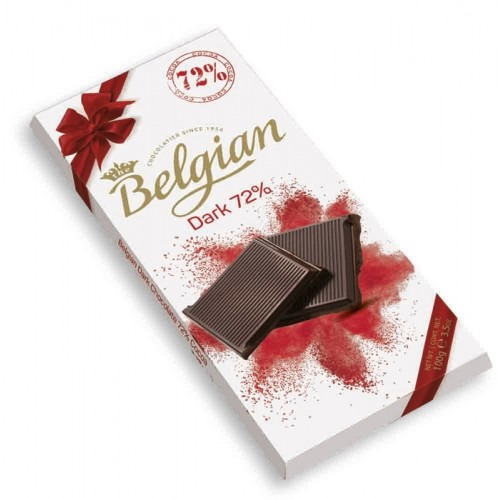 Шоколад The Belgian Bitter Chocolate (какао 72%) 100г
