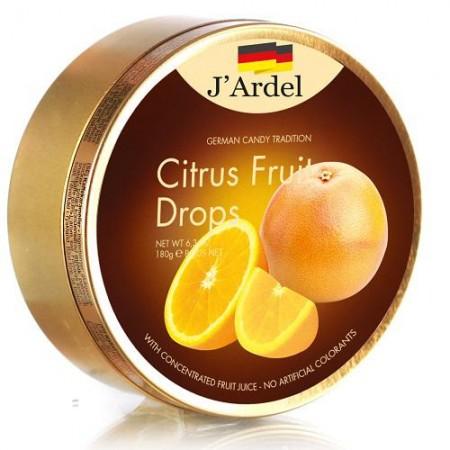 Леденцы J'Ardel Цитрусовые фрукты 180 гр