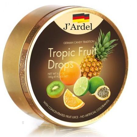 Леденцы J'Ardel Тропические фрукты 180 гр
