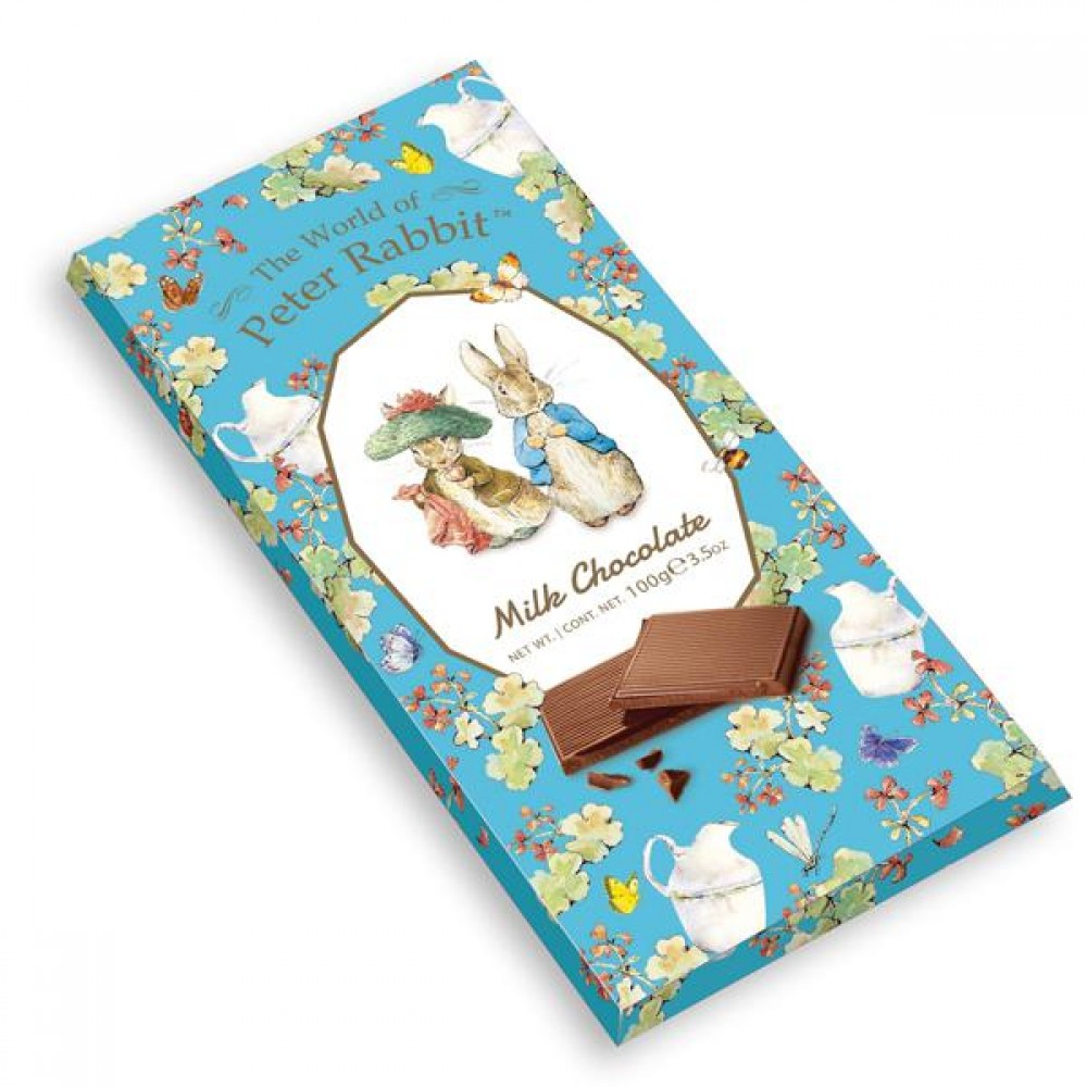 Молочный шоколад The World of Peter Rabbit - Bar Milk Bunny 100 г