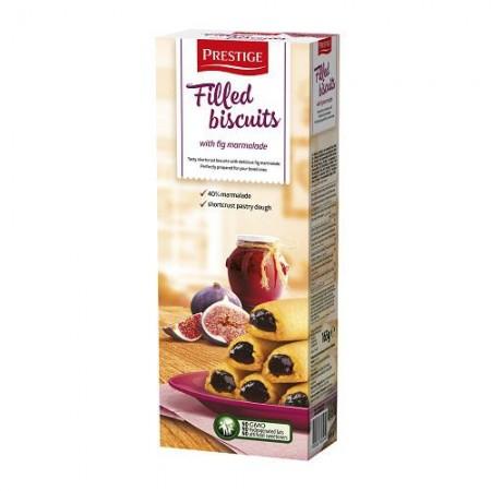 Бисквитное печенье с начинкой из инжира Prestige 165 гр