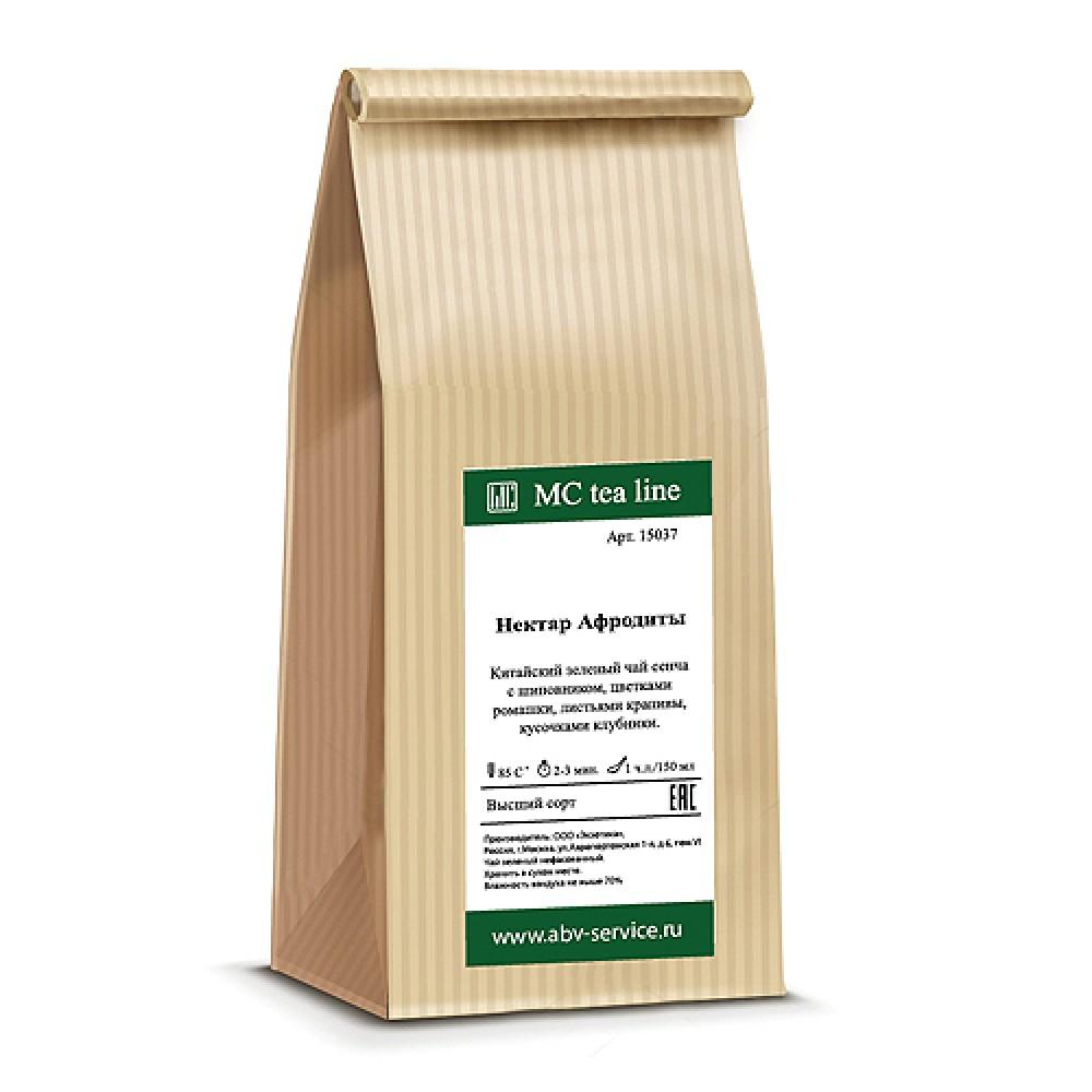 Чай зеленый ароматизированный Нектар Афродиты 100 г