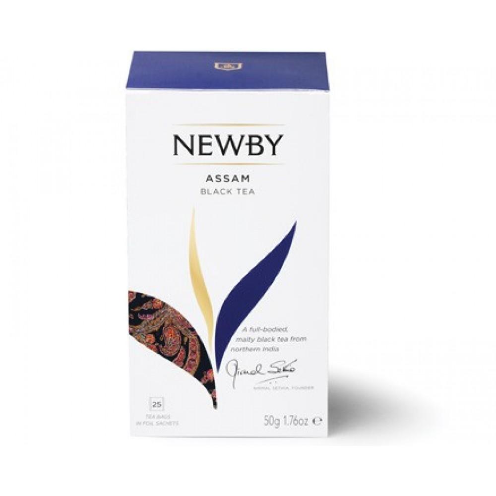 Newby Ассам (25 пакетиков по 2 гр)