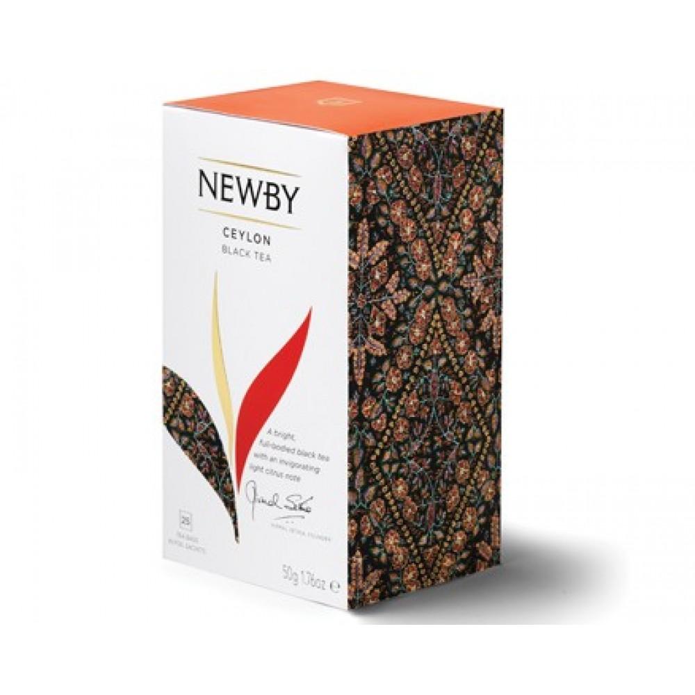 Newby Цейлон (25 пакетиков по 2 гр)