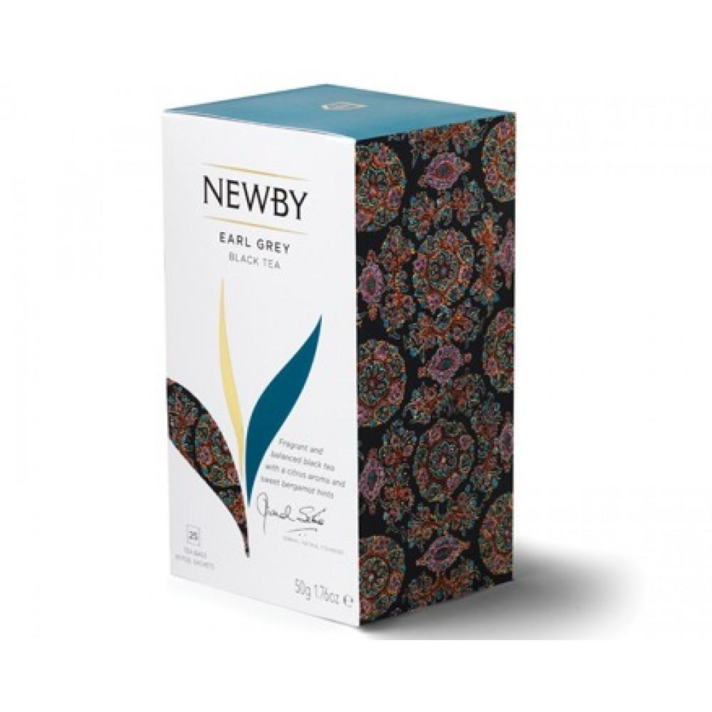Newby Эрл Грэй (25 пакетиков по 2 гр)